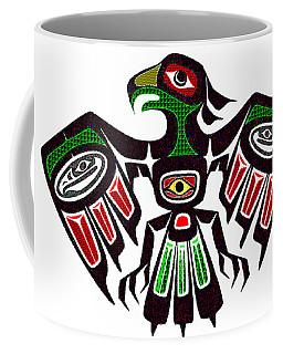Colorful Eagle Symbol Coffee Mug
