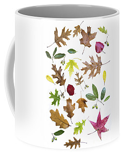 Colorful Fall Leaves Coffee Mug