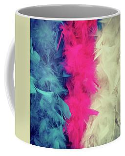 Colorful Feather Boa Coffee Mug