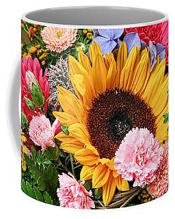 Colorful Flower Arrangement Coffee Mug