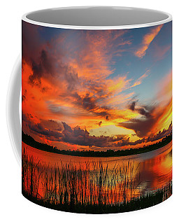 Colorful Fort Pierce Sunset Coffee Mug