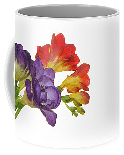 Colorful Freesias Coffee Mug