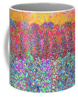 Colorful Garden Coffee Mug by Elizabeth Lock