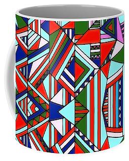Colorful Geometric Design Coffee Mug