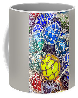 Colorful Glass Balls Coffee Mug by Carla Parris