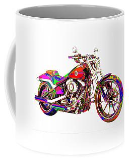 Colorful Harley-davidson Breakout Coffee Mug