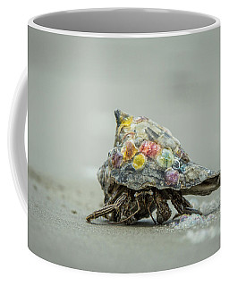 Colorful Hermit Crab Coffee Mug