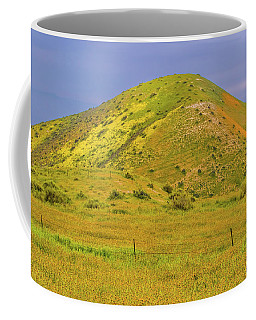 Coffee Mug featuring the photograph Colorful Hill by Marc Crumpler