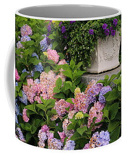 Colorful Hydrangea Coffee Mug by Living Color Photography Lorraine Lynch