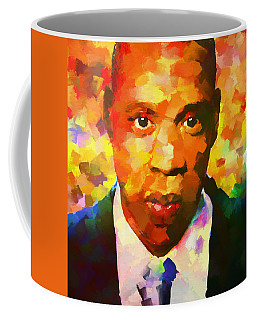 Colorful Jay Z Palette Knife Coffee Mug