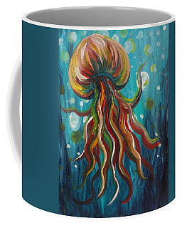 Colorful Jellyfish Coffee Mug