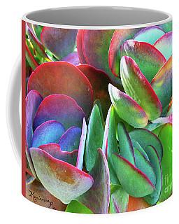 Colorful Kalanchoe Coffee Mug by Mariarosa Rockefeller