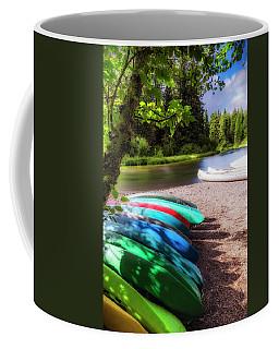 Colorful Kayaks Coffee Mug