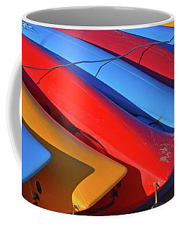 Colorful Kayaks Coffee Mug