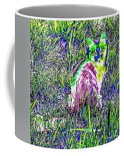 Colorful Kitty Coffee Mug
