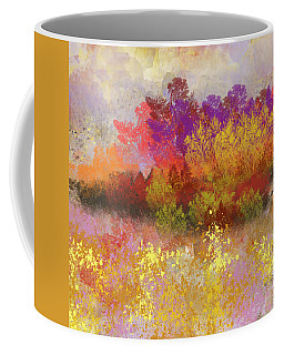 Colorful Landscape Coffee Mug by Jessica Wright