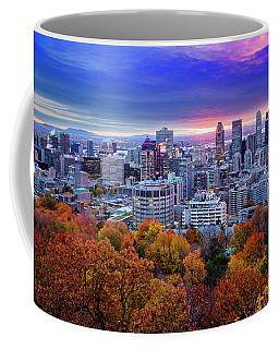 Coffee Mug featuring the photograph Colorful Montreal  by Mircea Costina Photography