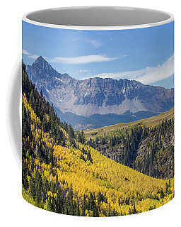 Colorful Mountains Near Telluride Coffee Mug