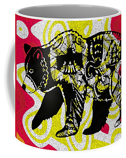 Colorful Native Black Bear Coffee Mug by Ayasha Loya