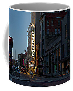 Colorful Night On Gay Street Coffee Mug