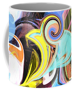 Colorful Pastel Swirls Coffee Mug