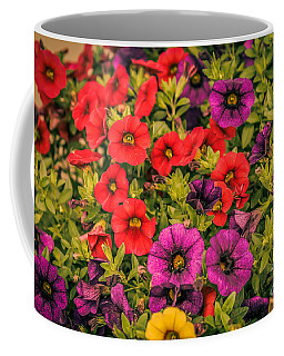 Colorful Petunias 1 Coffee Mug