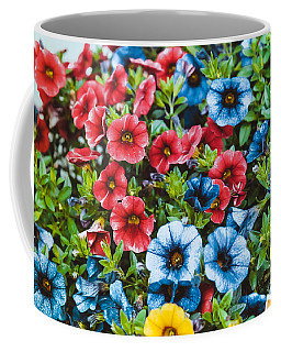 Colorful Petunias 2 Coffee Mug