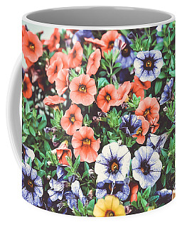Colorful Petunias 3 Coffee Mug