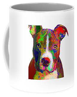 Colorful Pit Bull Terrier  Coffee Mug