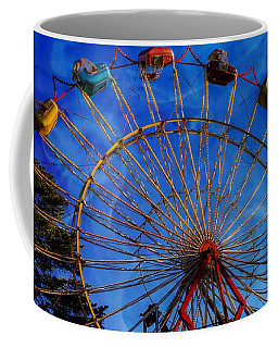 Colorful Ride Coffee Mug by Sherman Perry