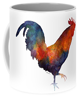 Colorful Rooster Coffee Mug