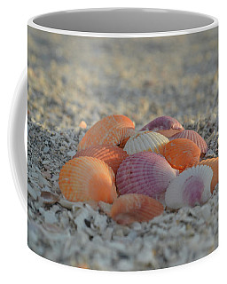 Colorful Scallop Shells Coffee Mug