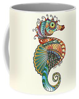 Colorful Seahorse Coffee Mug