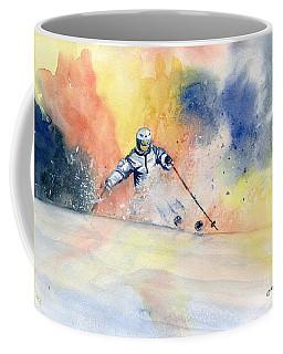 Colorful Skiing Art 2 Coffee Mug