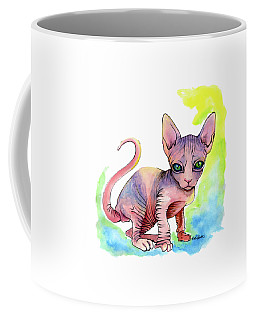 Colorful Sphynx Coffee Mug