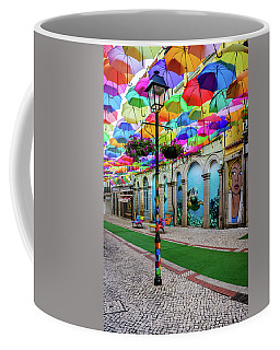 Colorful Street Coffee Mug by Marco Oliveira
