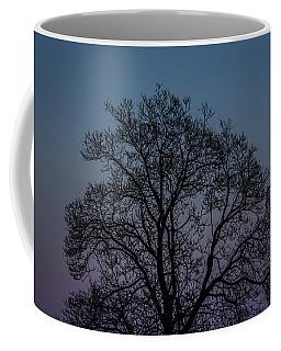Colorful Subtle Silhouette Coffee Mug
