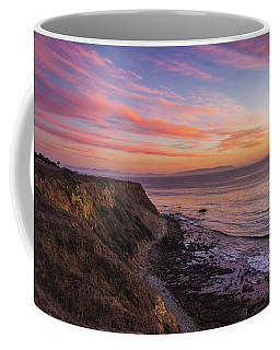 Colorful Sunset At Golden Cove Coffee Mug