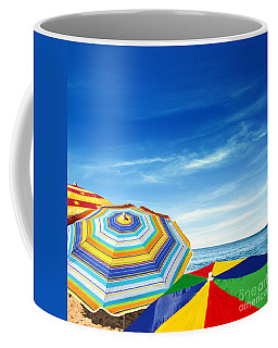 Colorful Sunshades Coffee Mug by Carlos Caetano