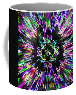 Colorful Tie Dye Abstract Coffee Mug