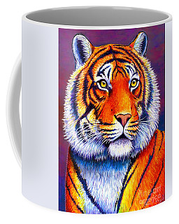 Fiery Beauty - Colorful Bengal Tiger Coffee Mug