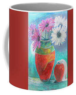 Colorful Vases And Flowers Coffee Mug
