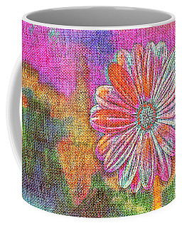 Coffee Mug featuring the painting Colorful Watercolor Flower by Lita Kelley