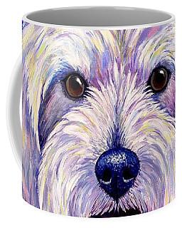 Colorful West Highland White Terrier Dog Coffee Mug