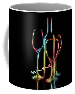 Colorful Wine Coffee Mug