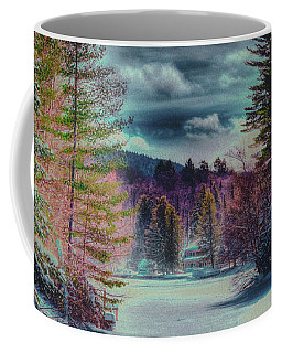 Coffee Mug featuring the photograph Colorful Winter Wonderland by David Patterson