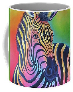 Colorful Zebra Coffee Mug