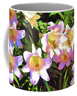 Coloring The Lilys Coffee Mug by Bonnie Willis