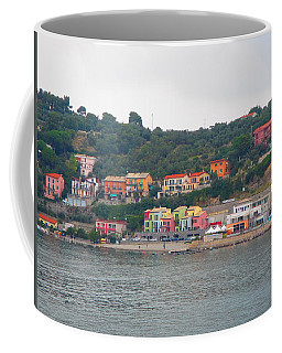 Coffee Mug featuring the photograph Colors Along The Coast by Christin Brodie