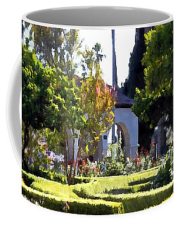 Coffee Mug featuring the photograph Colors In The Garden by Glenn McCarthy Art and Photography